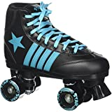 Epic Skates 2016 Star Hydra 2 Indoor/Outdoor Classic High-Top Quad Roller Skates, Black/Blue