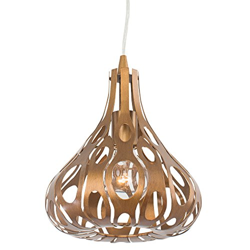 Hammered Silver Pendant Light in US - 5