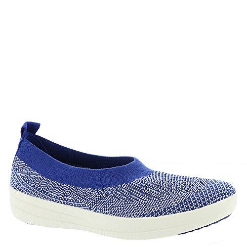 FitFlop Uberknit Slip-on Bailarina Zapatos Mazarine Azul Blanco Mazarine Azul / Blanco