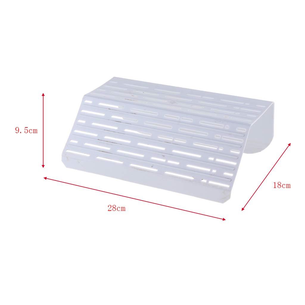 Fenteer Acuario Tanque Reptil Turtle Terrace PBasking Latform Plastic Dock Decor