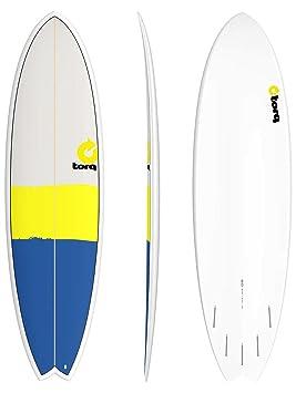 TORQ Tabla de Surf Tet 6,10 Fish New Classic: Amazon.es: Deportes y ...