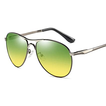 Gafas Sol Polarizadas para Hombres Día y Noche Noche ...