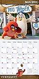 Angry Birds 2018 Wall Calendar (CA0104)
