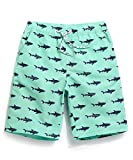 #10: Satankud Men's Swim Trunks Quick Dry Bathing Suits Printed Casual Shorts