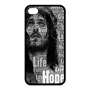 Custom Jesus Back Case for iphone4,4S JN4S-132 by lolosakes