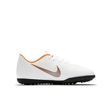 Nike AH7386-107 Herren Futsalschuhe Weiß Bianco/Grigio/Arancione