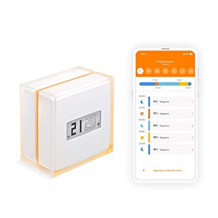 netatmo - Netatmo Termostato Wireless WiFi caldaia Smartphone ...