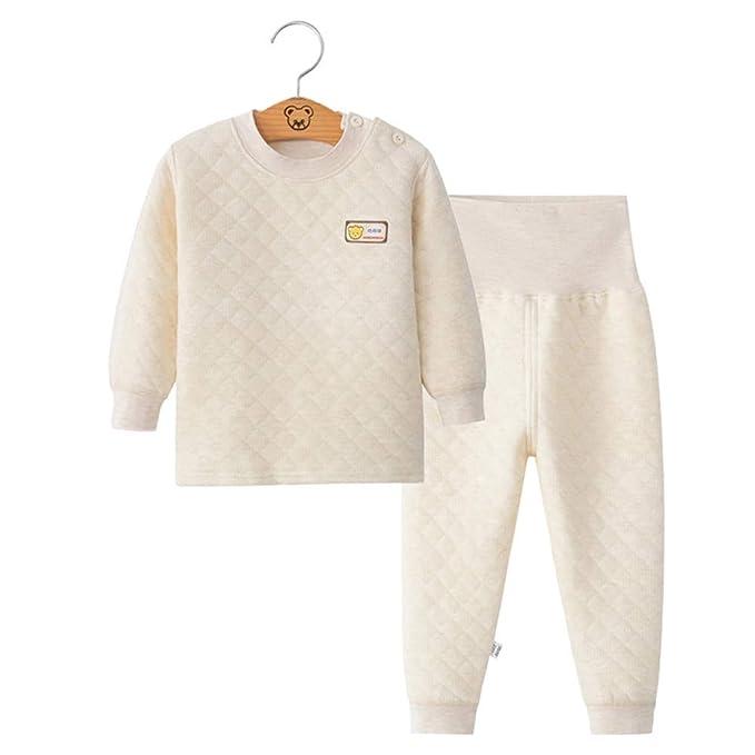 Amazon.com: Fairy Baby - Juego de pajamas térmicas para bebé ...
