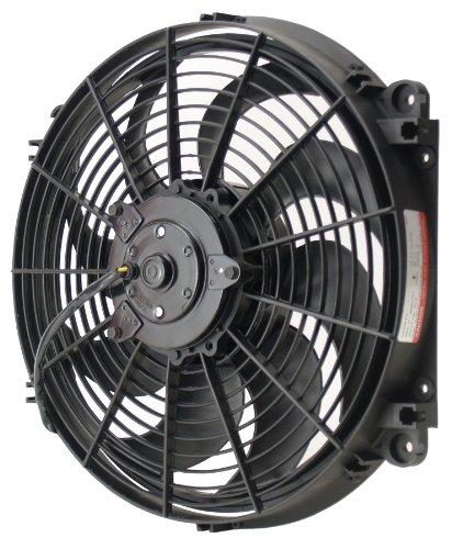 Derale 16514 14'' Tornado Electric Fan Premium Kit by Derale (Image #1)