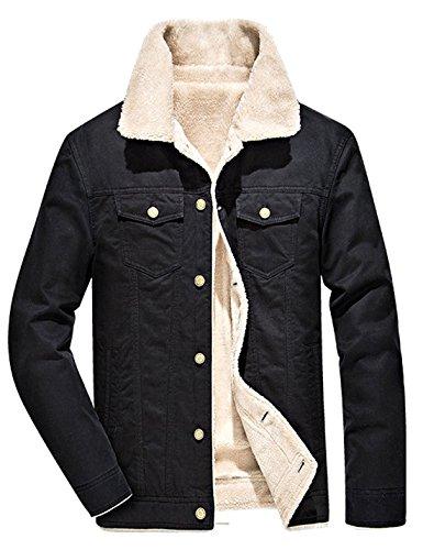 Women Slim Hooded Thicken Cotton Padded Coat Hoodies Black - 9