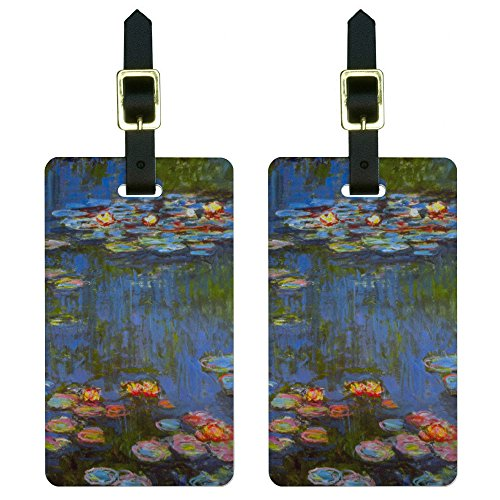 Water Lilies Lillies Suitcase Carry