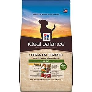 Hill's Ideal Balance Adult Grain Free Dog Food, Natural Chicken & Potato Recipe Dry Dog Food, 21 lb Bag