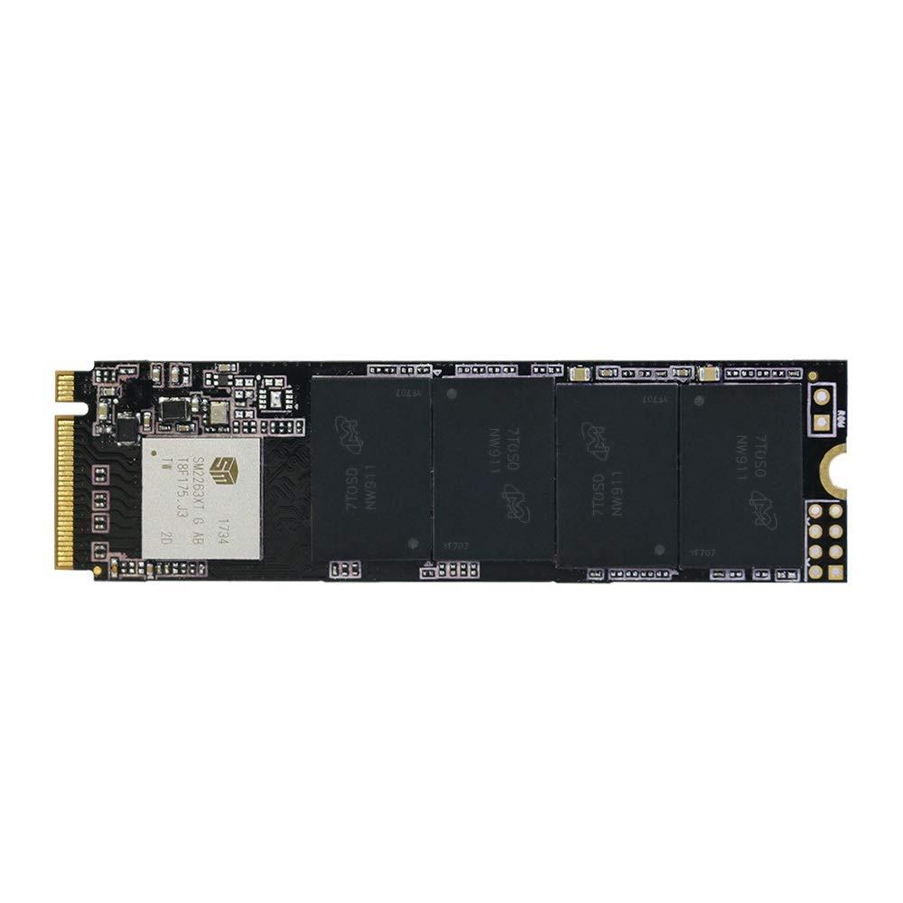 KingSpec PCIe NVMe 2280 60 GB 120 GB unidad de estado só lido de 240 GB 480 GB interno con disipador de calor 120 GB NE-120