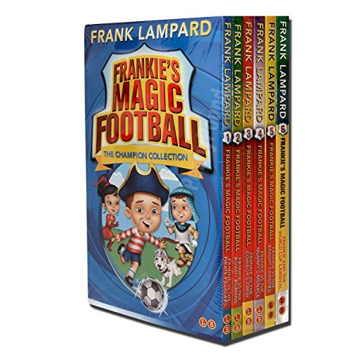 (Frankies Magic Football Collection 6 Books Set, (Frankie vs The Pirate Pillagers, Frankie vs The Rowdy Romans, Frankie vs The Cowboy's Crew, Frankie vs The Mummy's Menace, Frankie vs The)