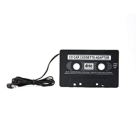 Convertidor de Adaptador de Cinta de Cassette para MP3 para iPhone 4 4S para iPod Touch