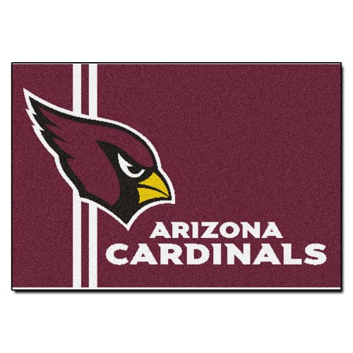 Fanmats NFL Arizona Cardinals Nylon Face Starter Rug by Fanmats