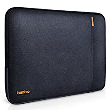 Tomtoc 360° Protective Sleeve for New 13 Inch MacBook Pro with Touch Bar Late-2016/ 12.9 Inch iPad Pro, Shockproof, Spill-Resistant, Black Blue