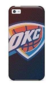Diy Yourself case, Fashionable Iphone 5c case cover - Oklahoma pE4PJjETn1x City Thunder Basketball Nba