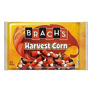 Brach's (1) bag Harvest Corn - Rich, Chocolaty Taste with Brown, Orange & White Candy Corn Pieces - Halloween/Fall Candy - Net Wt. 20 oz
