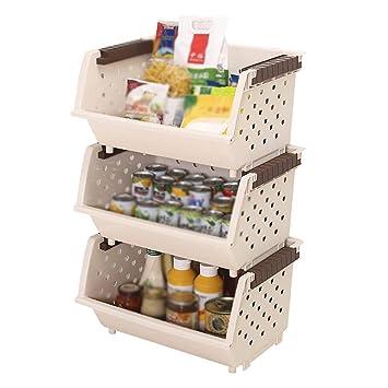 Amazon De Eeayyygch Kunststoff Kuchenregal Gemuse Und Obst Racks