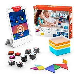 OSMO 901-00041 Genius Starter Kit (Versione tedesca) – Include 5 diversi mondi di apprendimento per bambini da 6 a 10 anni di base e riflettore inclusi 3 spesavip