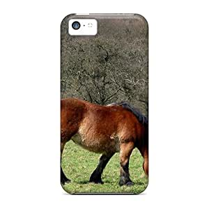 DGENDS Pretty Grazing Horse Animals Case Cover Iphone 5c Series High Quality Case