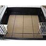 BirdCageLiners - Large Cages - Custom Size - 150 Pre-Cut Sheets - 60 Pound Paper - Up to 375 Ft of Paper 12