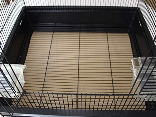 BirdCageLiners - Large Cages - Custom Size - 100 Pre-Cut Sheets - 40 Pound Paper