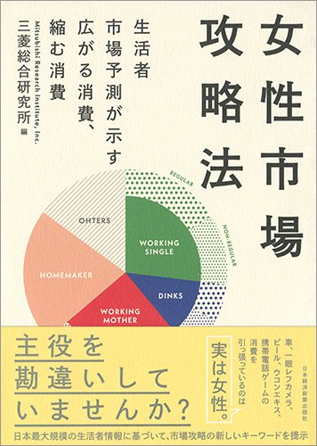 女性市場攻略法 生活者市場予測が示す広がる消費、縮む消費