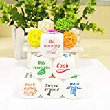 Better-Way 30pcs Funny Housework Dice Game Rolling Decider Party Bar Pub Adult Children Favor Toys