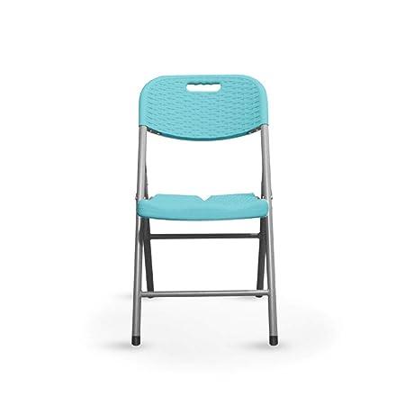 JIAERNIE Silla Plegable Portable Simple Mesa Silla de Playa Ocio ...
