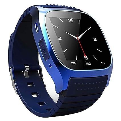 Amazon.com: MrRong Smart Watch M26 Bracelet Bluetooth Call ...