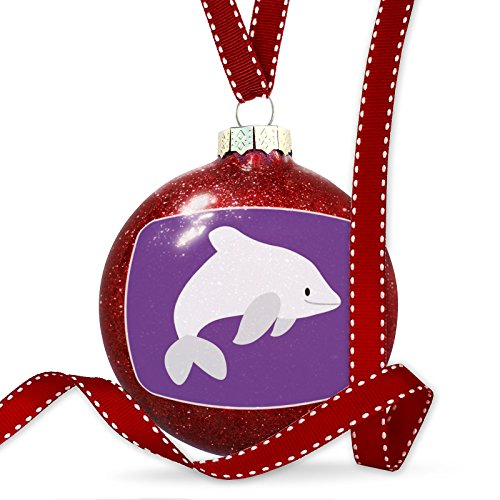 Christmas Decoration Cute Animals for Kids Dolphin Ornament by NEONBLOND