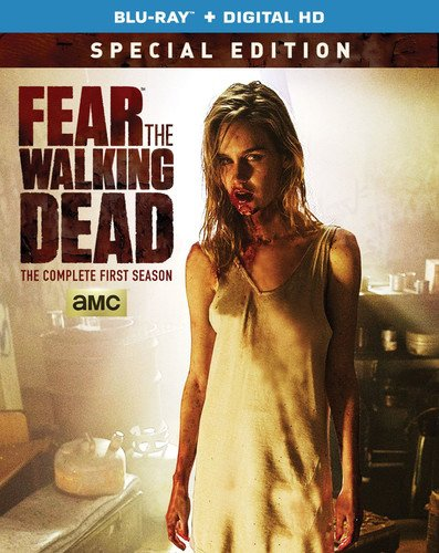 Blu-ray : Fear the Walking Dead: Season 1 (Ultraviolet Digital Copy, Special Edition, 2 Disc)
