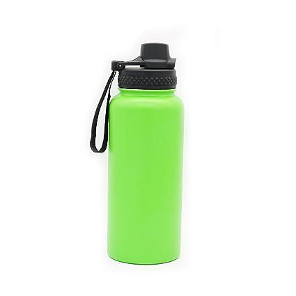 Yitye Botella de Agua aislada de Acero Inoxidable para Bebidas y Tazas de Viaje, 1000 ML