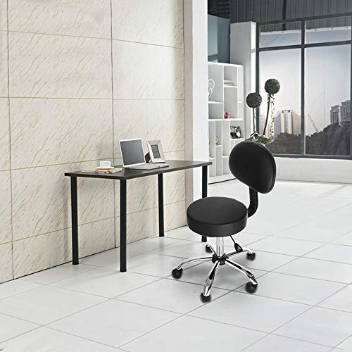 - Jiayit US Fast Shipment Lifting Stool Beauty Stool Physiotherapy Massage Manicure Chair Office Chair Hydraulic Salon Chair Office Chair Beauty Salon Work Bench Bar Chair Black