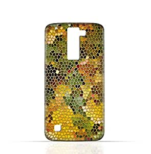 LG K7 TPU Silicone Case with Stained Glass Art