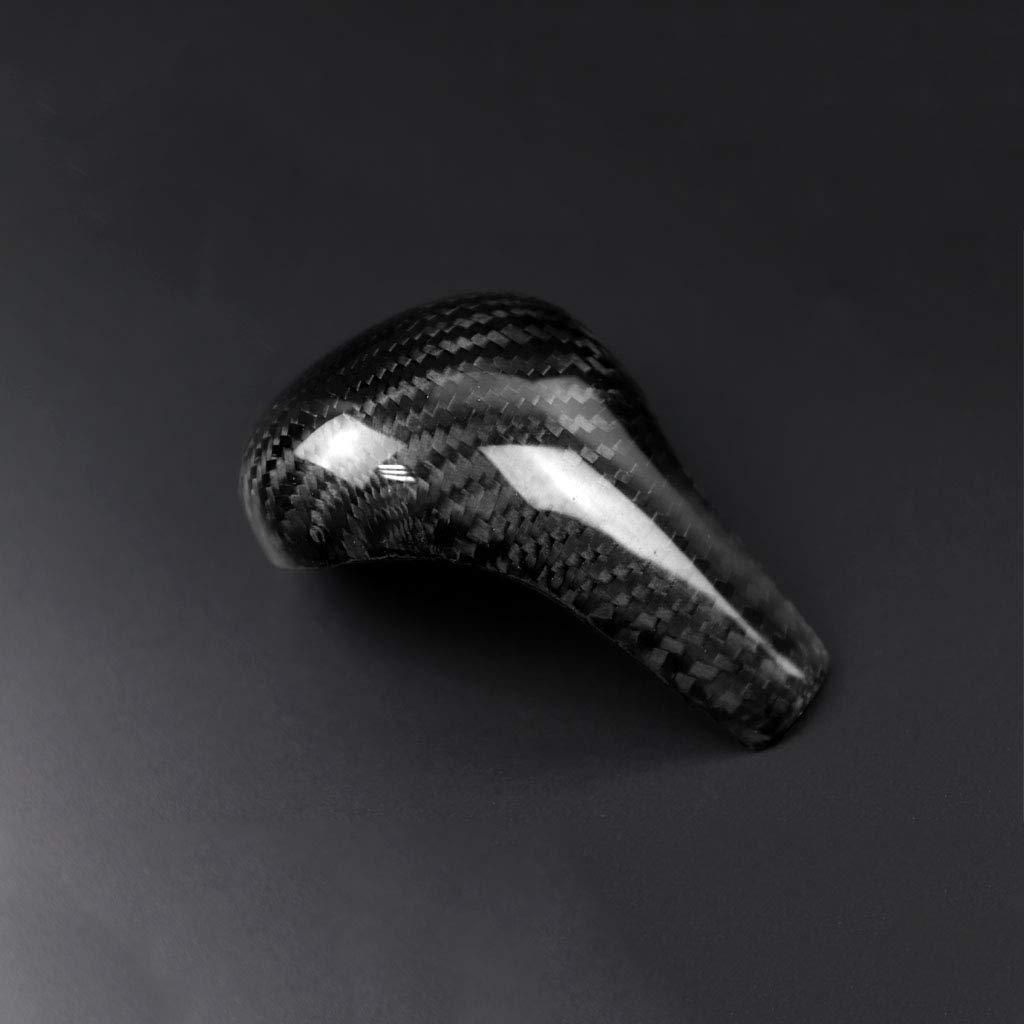 2012 // A6 2005 2011 // Q5 2009 WonVon Copertura per pomello del Cambio in Fibra di Carbonio per Interno Auto per Audi A4 2009 2012
