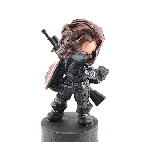Marvel Avengers Winter Soldier Bucky Barnes Figure 5