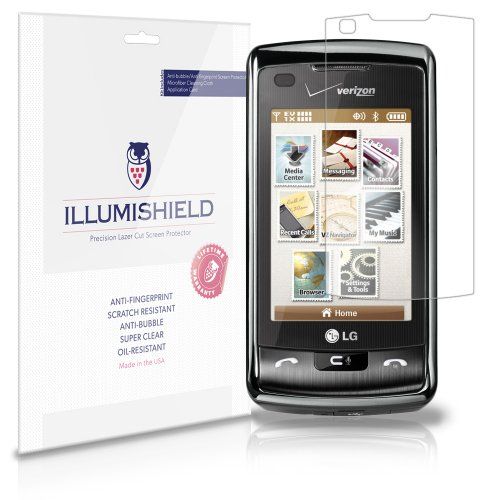 - iLLumiShield Screen Protector Compatible with LG enV Touch (VX11000)(3-Pack) Clear HD Shield Anti-Bubble and Anti-Fingerprint PET Film