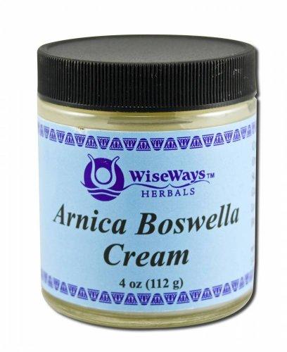 WiseWays Herbals Arnica Boswella Cream 4 oz
