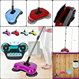 Supermall New imported Household Hand Push Automatic Sweeping Robot Vacuum Cleaner without Electricity Broom, Dustpan and Trash Bin 3 in 1 High Quality