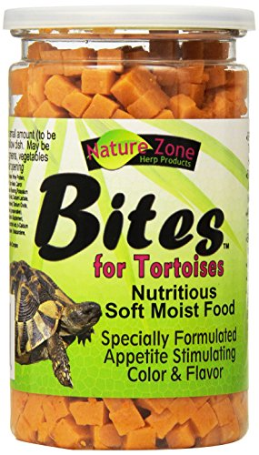 (Nature Zone SNZ54661 Melon Flavored Total Bites Soft Moist Food for Tortoise, 9-Ounce)