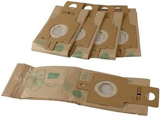 Pack of 5 U3200 U3100 Paxanpax VB291 Compatible Paper Bags for Hoover H20//H20A Purepower Brown PU2100 U3300 U3400 U3500 DM4483 Daewoo Upright Series