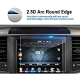 #3: 2013-2018 Dodge Ram 1500 2500 3500 Uconnect 8.4 Inch Navigation Screen Protector, LFOTPP Clear Tempered Glass Car Display Touch Infotainment Screen Scratch-Resistant Extreme Clarity (1PCS)