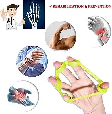 Hand Grip Strengthener Finger Stretcher Strength Trainer for Forearm Exercise// 6