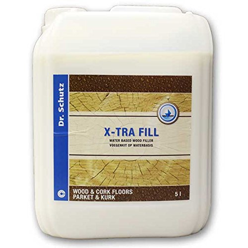 Dr Schutz X-tra Fill Wood Filler, 5L by Dr Dry