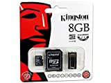 Kingston Digital Multi-Kit/Mobility Kit 8 GB Flash Memory Card Reader, MBLY4G2/8GB
