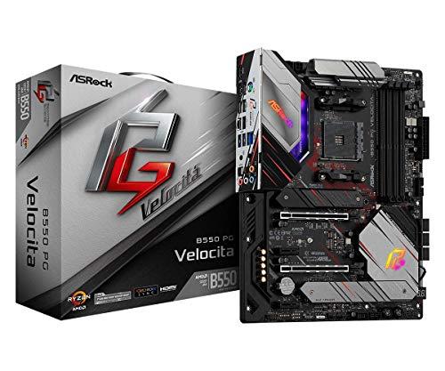 ASRock B550 PG Velocita Supports 3rd Gen AMD AM4 Ryzen/Future AMD Ryzen Processors Motherboard