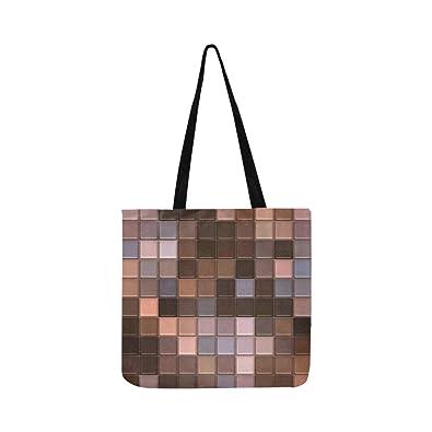 Amazon.com  Tiles Ceramic Wall Decoration Headboard Mosaics Canvas Tote  Handbag Shoulder Bag Crossbody Bags Purses For Men And Women Shopping Tote   Shoes 9802b12451